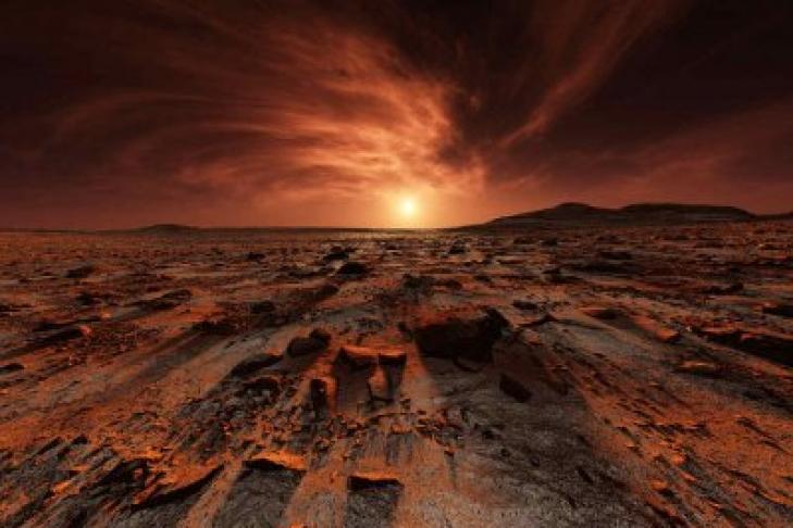 Ученые заметили наМарсе таинственные песчаные волны