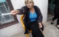 В Запорожской области «агитаторша» замгубернатора Дудки напала на журналиста (ВИДЕО)