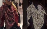 Голландский дизайнер изобрел шарф для звезд, который позволит исчезнуть со снимков папарацци