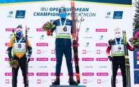 ЧЕ по биатлону: Прима стал чемпионом Европы в гонке преследования