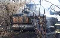 В Киеве горели дачи (фото)