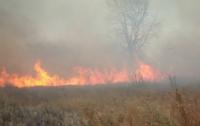 На военных объектах случился пожар