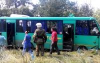 Жуткая авария с пассажирским автобусом под Днепром, есть жертва
