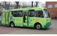 В Житомире появился первый электро-автобус украинского производства