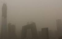 Пекин накрыла пылевая буря