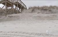 Туриста убила песчаная дюна, в которой он рыл тоннель вместе с детьми