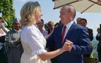 Путин на свадьбе не принес удачи австрийской чиновнице