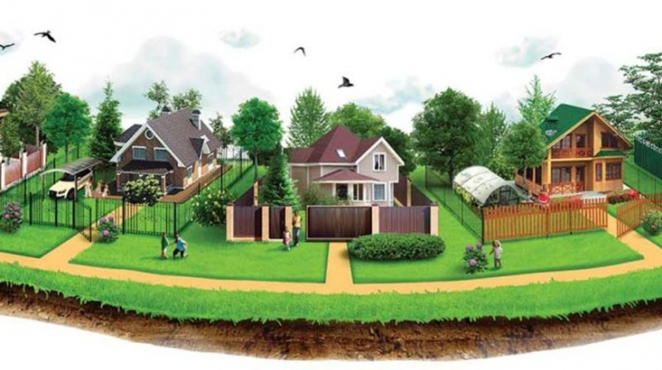 Как оформить дом