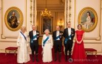 Кейт Миддлтон позировала для портрета королевской семьи в тиаре принцессы Дианы