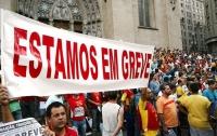 В Португалии парализовано метро: профсоюзы против «затягивания поясов»