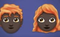 Рыжие темнокожие появятся в новом наборе эмодзи