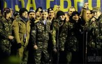 «Афганская сотня Майдана» заняла базу «Беркута»