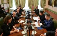 Огласили совместное заявление глав МИД Франции и Германии после встречи с украинским президентом