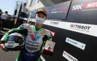 Украинский мотогонщик впервые в истории выиграл золото в Суперпоул