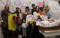 Житомирянка родила 13-го ребенка
