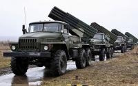 Боевики на Донбассе выставили десятки