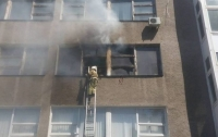 Пожар в Одессе: загорелась строительная академия