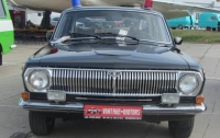 Украинцам показали уникальную машину КГБ