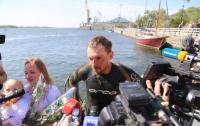 Заплыв #ВплавьДнепр был зарегистрирован Книгой рекордов Украины
