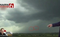 Полет НЛО показали в прямом эфире американского канала (видео)