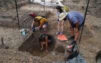 Под Полтавой нашли скифское детское захоронение