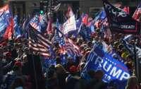 Сторонники Трампа вышли на митинг (видео)
