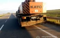 В Украине маршрутка с белорусами врезалась в кран: семь пострадавших (видео)