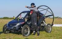 Француз перелетел Ла-Манш на автомобиле