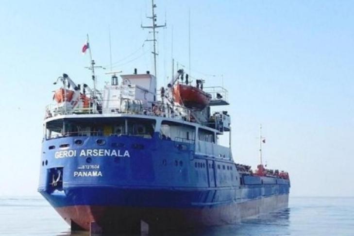 Кпоискам экипажа сухогруза «Герой Арсенала» подключили водолазов иподводный аппарат