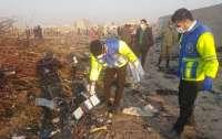 Украинские эксперты остались в Иране для идентификации тел погибших в авиакатастрофе