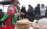 Украинцев научили отмечать Масленицу «по-древнекиевски» (ФОТО)