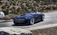 Maybach показал люксовый электромобиль без крыши