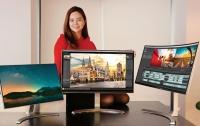LG акцентирует внимание на новые широкоформатные и изогнутые 4K-мониторы