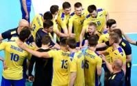 Украинские волейболисты порадовали