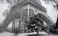 Аномальные майские снегопады накрыли Францию (видео)