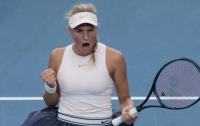 18-летняя украинская теннисистка вышла в финал престижного турнира