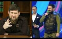 Опубликовано видео, как Галустян показывает Кадырову пародию на него
