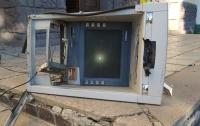 Под Харьковом подорвали банкомат и украли деньги