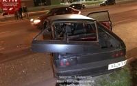 Масштабное ДТП в Киеве: столкнулись пять автомобилей