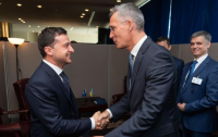Зеленский встретился с генсеком НАТО