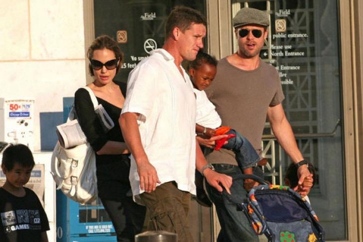 Телохранитель Джоли иПитта: Яспас Анджелину от вероятностного покушения