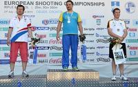 Роман Бондарук - чемпион Европы в пулевой стрельбе