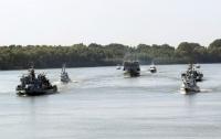 Украина и Румыния начали крупные военные учения на Дунае