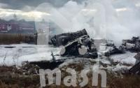 В Подмосковье потерпел крушение истребитель