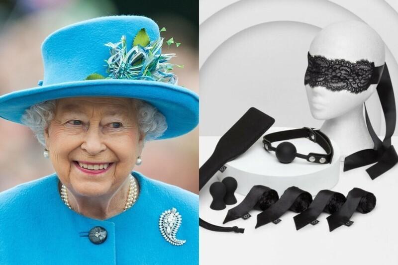 Британская королева и интимные игрушки: бренд получил королевский знак