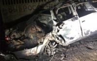 В Одесской области взорвался автомобиль, пострадали три человека