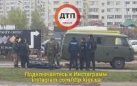 В Киеве посреди улицы умер мужчина