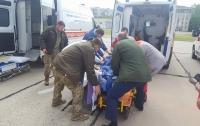 В Одессу привезли тяжелораненых бойцов из зоны АТО