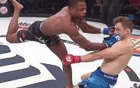 Нокаут года: разгневанный боец победил соперника за полторы минуты (видео)