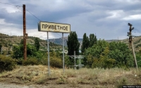 Сверкающий Ленин и побеленные деревья - советское настоящее оккупированного села (фото)